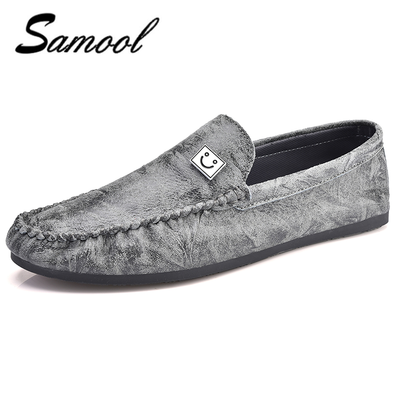 top classic spring Men Shoes Genuine Leather Loafers Mens Slip On Driving Shoes brand Casual comfortable Moccasins flats xxz5 mycolen men loafers leather genuine luxury designer slip on mens shoes black italian brand dress loafers moccasins mens