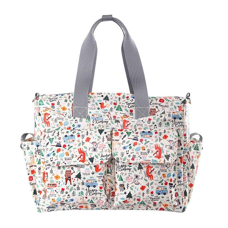 Nouveaux sacs à main en Polyester pour femmes sac momie multicouche de grande capacité sac à bandoulière multifonctionnel imperméable et portable