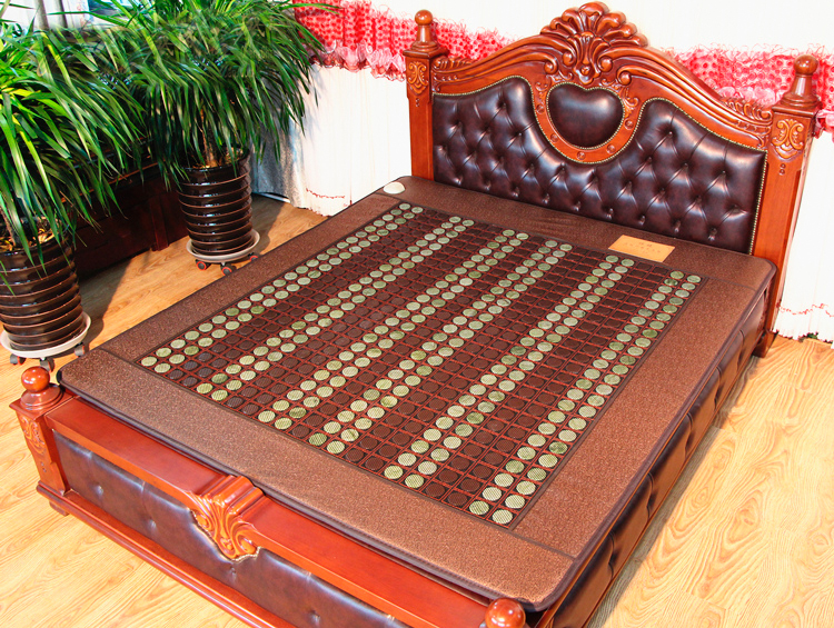 2016 new massage cheap germanite heating mattress elderly bed cushion massage stones for sale 3 Size for You Choice 2016 natural heating germanium thermal massage cushion massage mattress health care 3 size for you choice