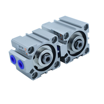 Free Shipping SDA Type Pneumatic Cylinder 32mm Bore 5/10/15/20/25/30/35/40/45/50/60/70/75/80/90/100mm Stroke Air Cylinder smc type air cylinder cqmb cdqmb bore 25mm compact rod guide pneumatic cylinder components stroke 5 10 15 20 25 30 35 40 45 50m