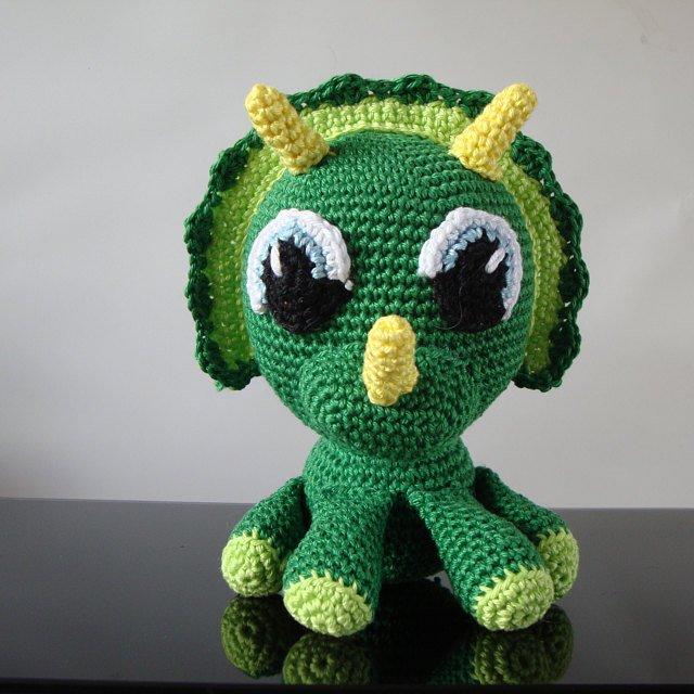 Amigurumi Crochet Dragon Pattern | Supergurumi | 640x640