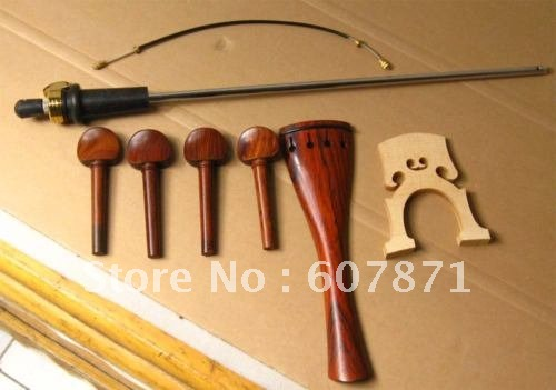 4/4 a set of CELLO inlaid parts ebony great technique new 4 4 electric cello powerful sound ebony parts end pin tailpiece peg 1468
