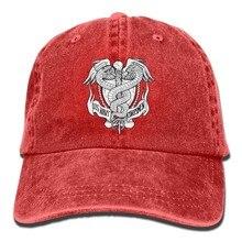 1a45e564d46863 US Navy Hospital Corpsman Rating Unisex Adjustable Cotton Denim Hat Washed  Retro Gym Hat FS DMhcap Cap Hat