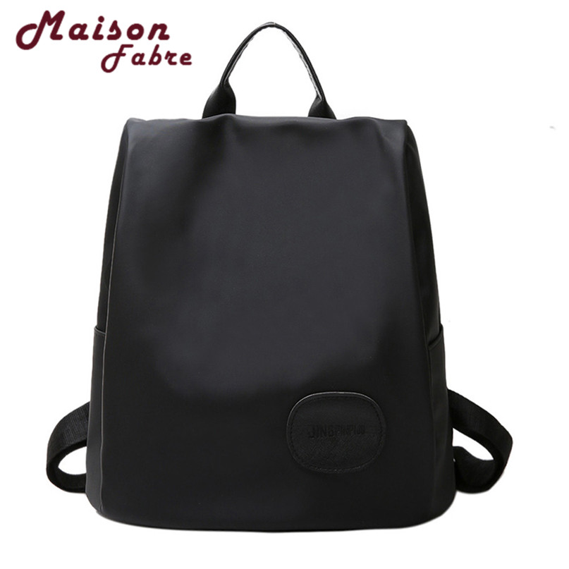 New Mafa Bag Women Leather Backpacks Schoolbags Travel Shoulder Bags Csv Drop F23