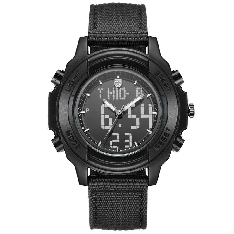 Students Waterproof Dual Display Wristwatches Adolescents Multifunction Electronic Watch Outdoor Sports Military Form Watches david butali namasaka factors influencing deviant socio cultural practices among adolescents