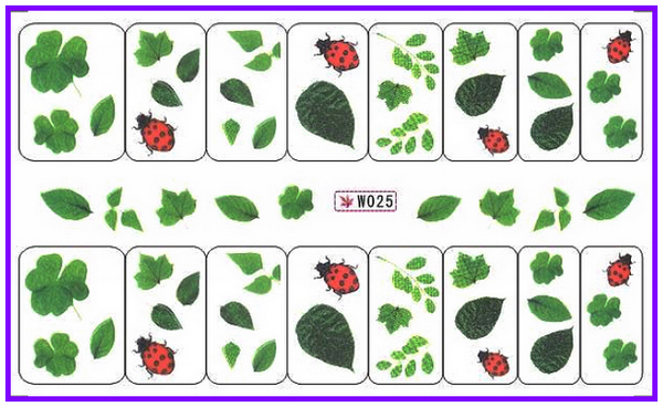 Resultado de imagen para Nail flowers and ladybugs