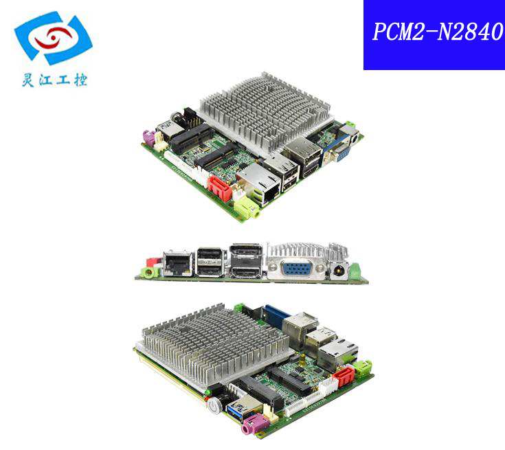 Fanless Design N2840 CPU Support VGA/LVDS/HDMI mini Embedded Industrial motherboard