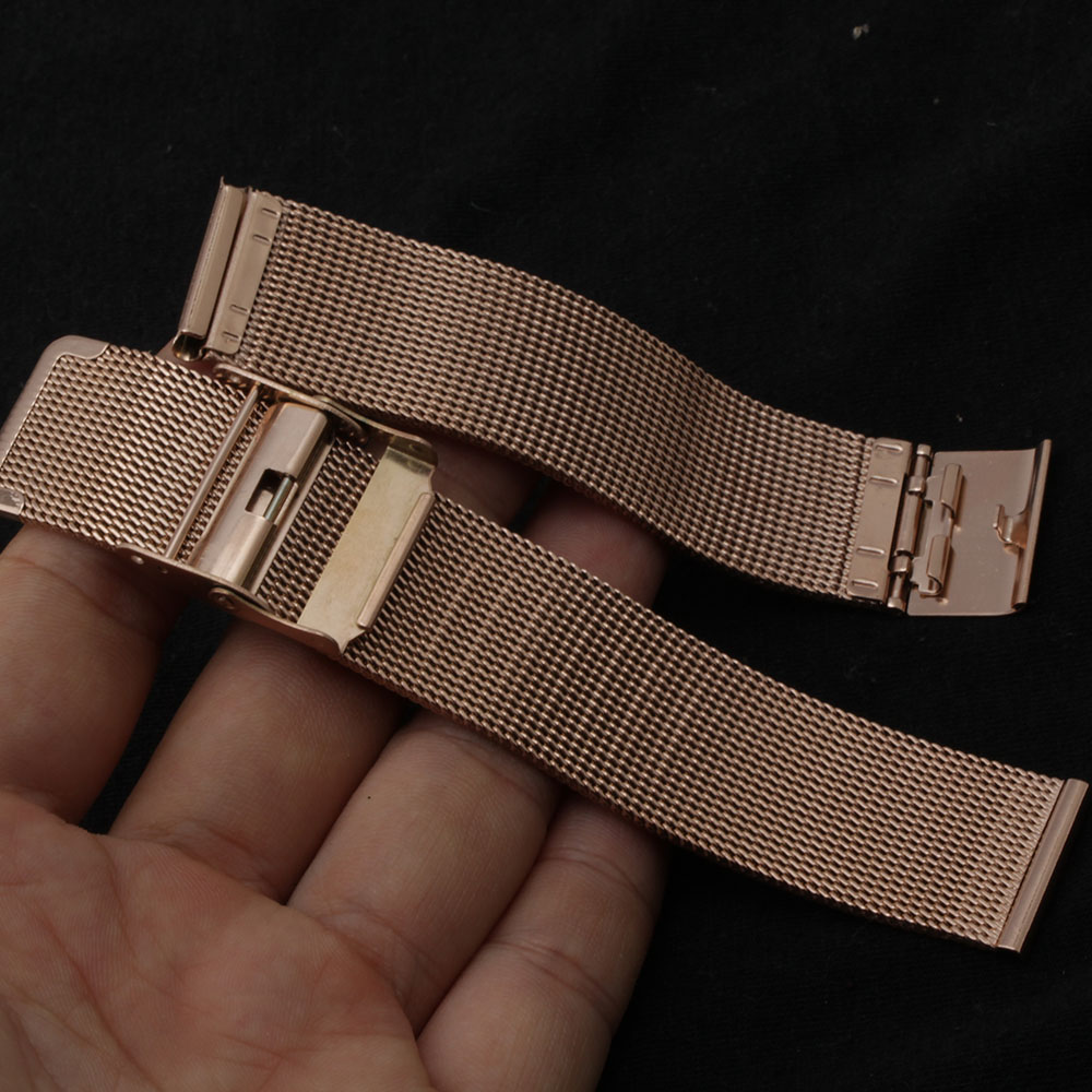 Watchband Stainless steel 17mm 18mm 19mm 20mm watch strap bracelet new arrival promotion for men hours womens watches rosegold 26mm watch strap for hours stainless steel bracelet for wrist watches gd016326