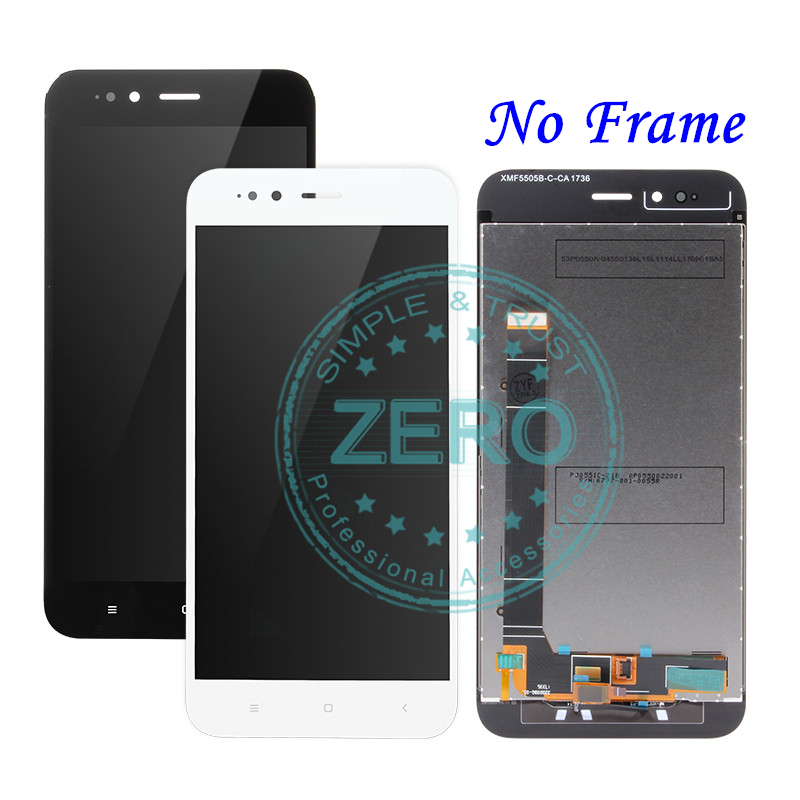 For Xiaomi Mi A1 LCD Display Frame Screen 10 Touch Panel MiA1 Mi5X LCD Display Digitizer For Xiaomi Mi A1 LCD Display + Frame Screen 10 Touch Panel MiA1 Mi5X LCD Display Digitizer Touch Screen Repair Spare Parts