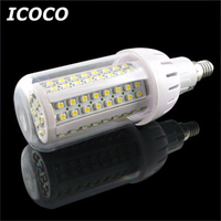 ICOCO 4 x 108 SMD 3528 LED E14 Corn Light Bulbs Warm White Home Lamps Energy Saving Promotion Sale Drop Shipping
