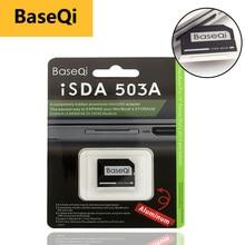 Original BaseQi อลูมิเนียม MiniDrive Micro SD Card Adapter Card Reader สำหรับ Macbook Pro Retina 15 bilgisayar การ์ดหน่วยความจำอะแดปเตอร์