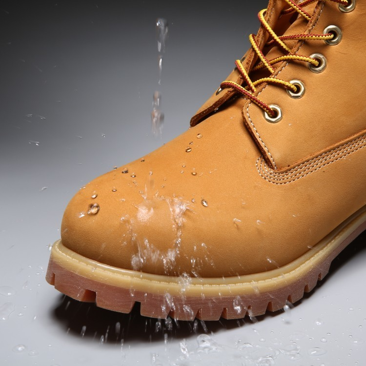 TIMBERLAND Classic Men's 6-Inch Premium Waterproof Boots For Men Male Nubuck Genuine Leather Ankle Wheat Yellow Shoes 10061 5