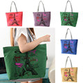 Iron Tower Canvas Handbag Preppy School Bag for Girls Women's Handbags Cute Bags
