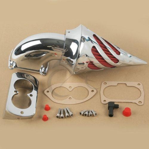 Chrome Air Cleaner Kits Intake Filter For KAWASAKI Vulcan 1500 1600 Mean Streak motorcycle spike air cleaner intake filter for 1995 up kawasaki vulcan 800 vn800a vn800 classic