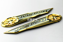 Motorcycle Gas Tank Emblem Badge Chrome 'DragStar' For Yamaha Vstar XVS XV400 650 Classic Dragstar freeshipping freeshipping chrome saddle bag support bar mounts bracket for 98 11 yamaha v star xvs 1100 dragstar 400 650 classic