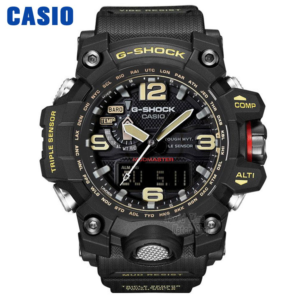 Casio Watche Tigers Triple Sensing Solar Movement Men WatchGWG A
