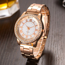 2017 New Fashion Kanima Quartz Watch Clock Women Luxury Brand Stainless steel Crystal Casual Wristwatches Ladies Dress Watch new women s fashion luxury bracelet watch quartz golden clock rectangle case crystal dial steel chain strap dress wristwatches