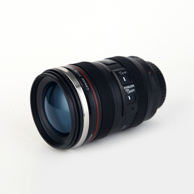 400 ml Unique Camera Lens Drinking Glass 4