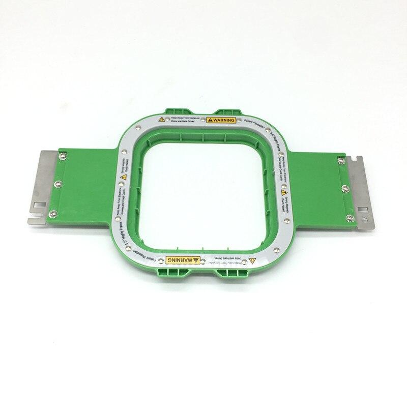 Qualité supérieure Tajima cadres aimant taille 5.5x5.5 pouces longueur totale 355mm tajima puissant hoop magnétique cercle à broder