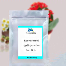 Wholesale Purity Polygonum Cuspidatum Extract Trans Resveratrol 99% Bulk Powder bai li lu Anti-cancer Nourish protect liver