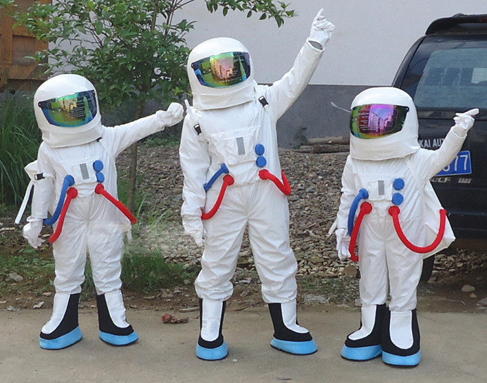Space Suit Mascot Costume Astronaut Mascot Costume With Backpack Glove,shoes Engineering Costume Career Play Free Shipping Latest Technology