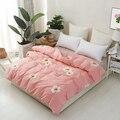 Plant Printed Duvet Cover Cotton Fabric Pastoral Home Bedding Sets Duvet Covers 1 Pcs Size 160x210cm 180x220cm 200x230cm 220x240