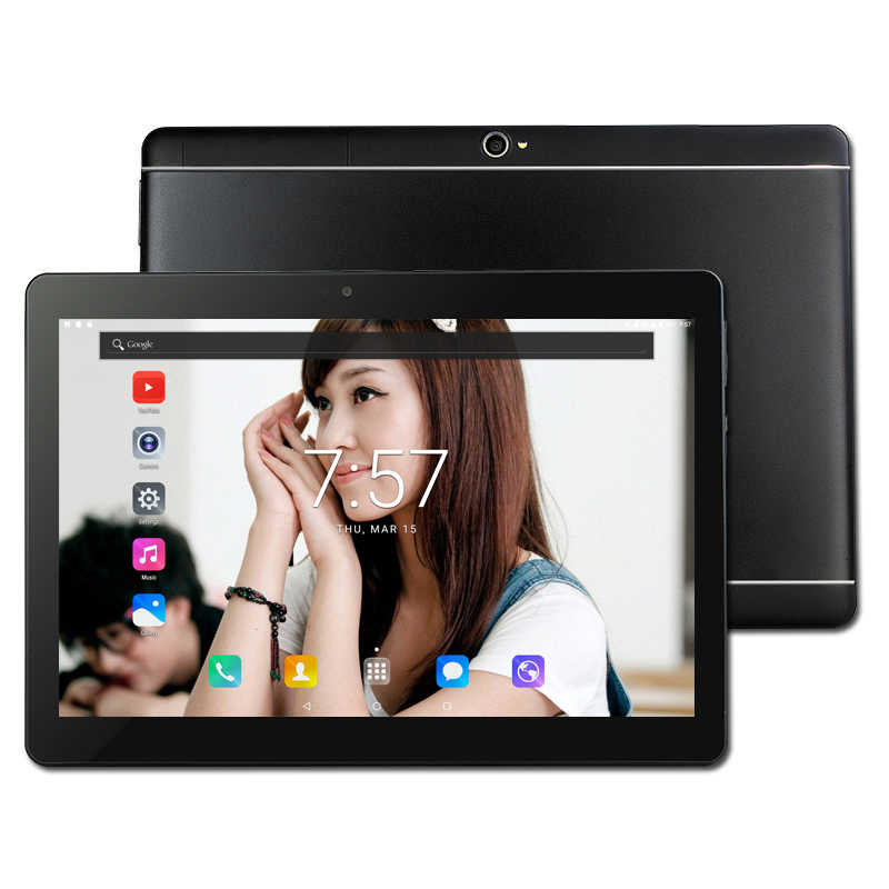 New 4G lte Phone Call 10.1 inch Tablet pad Android 7.0 HD 1920x1200 MTK 6797 16GB /32GB Deca Core Tablets Pc Dual SIM Card Slots
