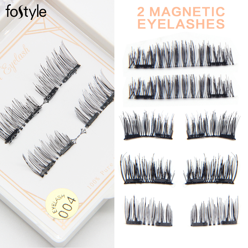 mink eye lash eyelash extension mixed tray 3D Magnetic Eyelash Natural False Eyelash Magnet Full Strip Magnetic Lashes Soft Hair
