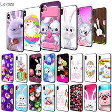 Lavaza Lovely Easter bunny easter eggs Soft Case for Apple iPhone 6 6S 7 8 Plus 5 5S SE X XS MAX XR TPU Cover