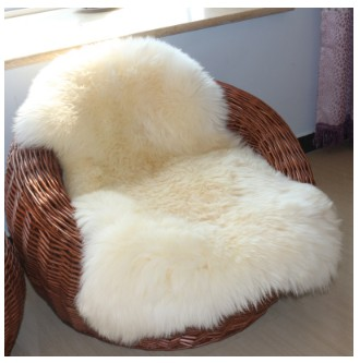 100% véritable laine Pure en peau de mouton tapis pour salon tapis de sol tapis lit couverture personnalisé chambre fenêtres tampons