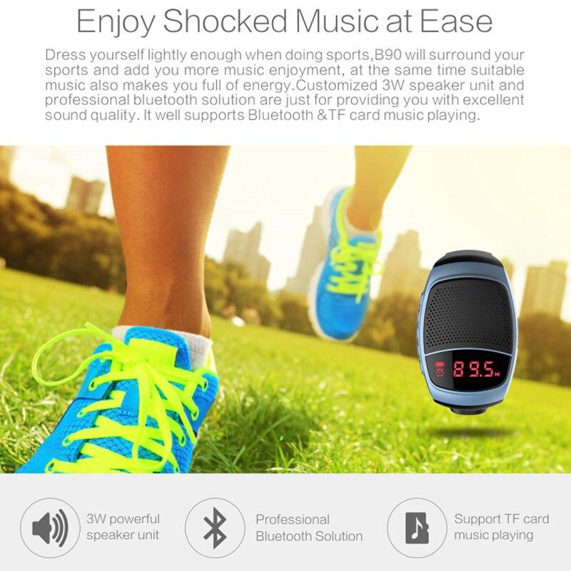 Orsda B90 B90 watch sport portable Bluetooth stereo Bluetooth stereo Bluetooth audio intelligent self FM