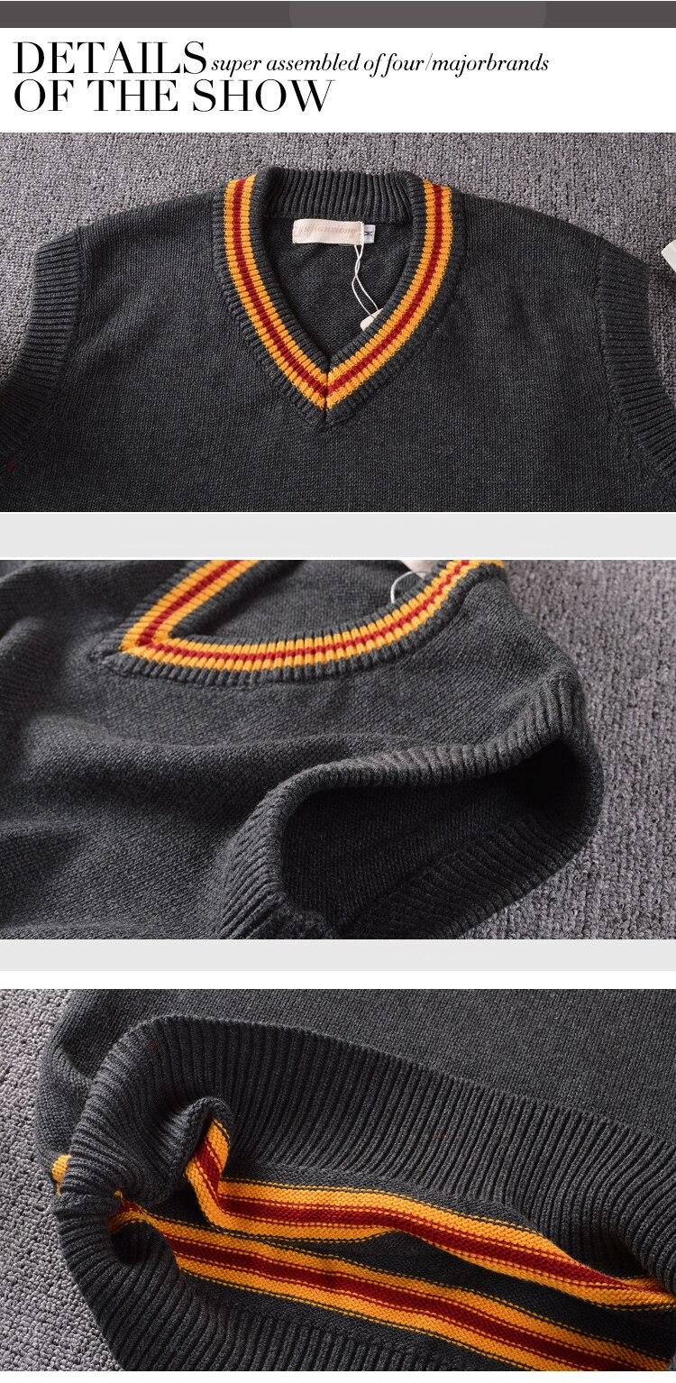 com o mesmo decote em v suéter