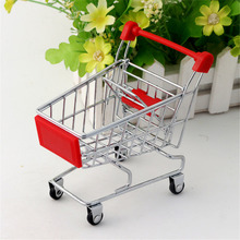 Mini Shopping Cart Safe Trolley Toy Classic Children Puzzle Supermarket Car Pretend Play Furniture Toys Children Play House Toys