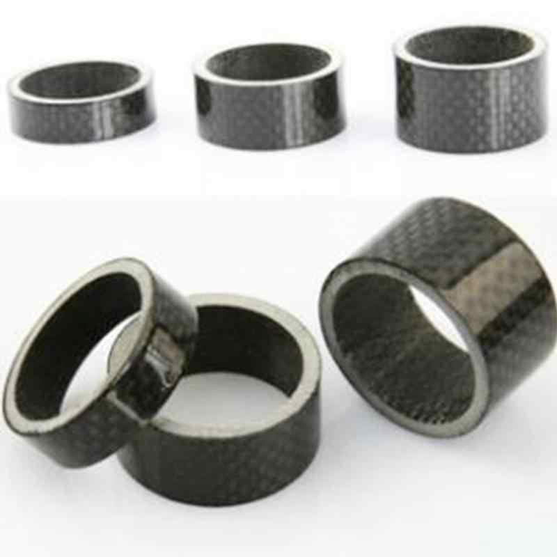 5 stücke Fahrrad Carbon Faser 3mm/5mm/10mm/15mm/20mm Headset spacer Für Bike Fix Refit