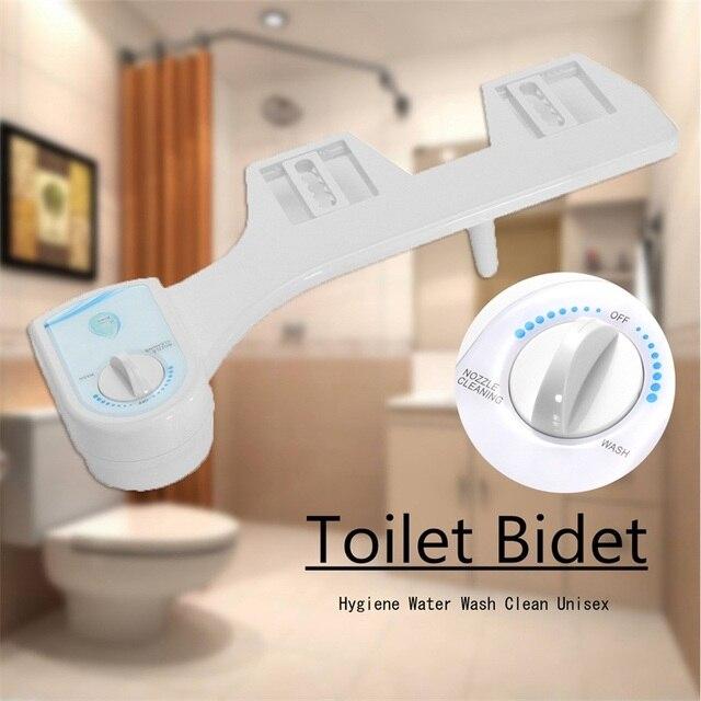 Холодная вода неэлектрическая ванная комната унитаз биде спрей сопло АБС-пластик, туалетный сиденье Регулируемая насадка Гинекологическая стирка AU Plug