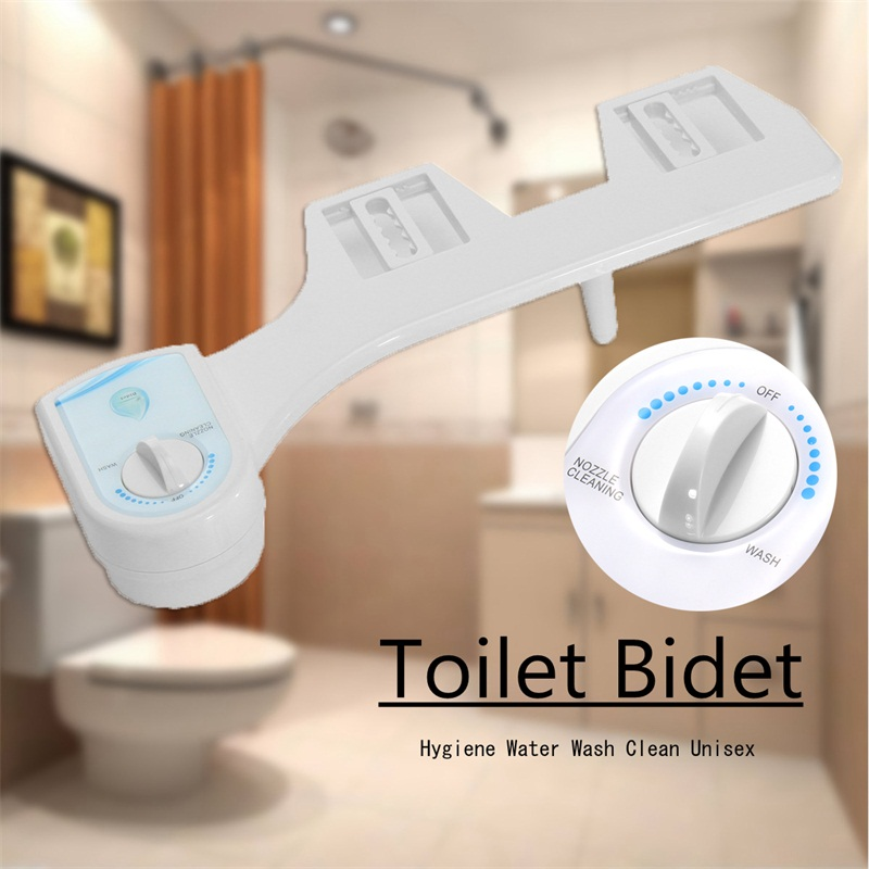 Xueqin Cold Water Non-Electric Bathroom Toilet Seat Bidet Spray Nozzle ABS Toilet Seat Adjustable Nozzle Gynecological Washing toyzy