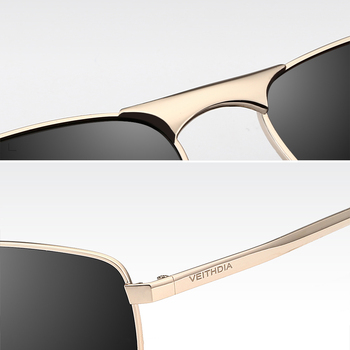 VEITHDIA Polarized Square Sunglasses UV400  4