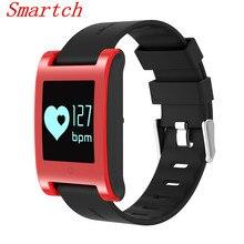 Smartch DM68 умный Браслет Приборы для измерения артериального давления сердечного ритма Мониторы Bluetooth вызова sms-оповещение Smart активности Фитнес трекер