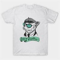 ceaa0ce531ab6 Cool men puppy dog cat design summer t shirts casual fashion Men s White  T-shirt