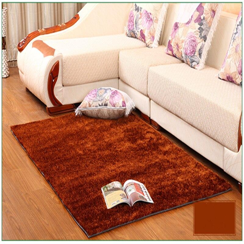 Grande taille tapis pour salon chambre antidérapant doux Shaggy tapis bébé pépinière tapis moderne tapis tapis tapis 5 couleurs 1.2x1.7 m