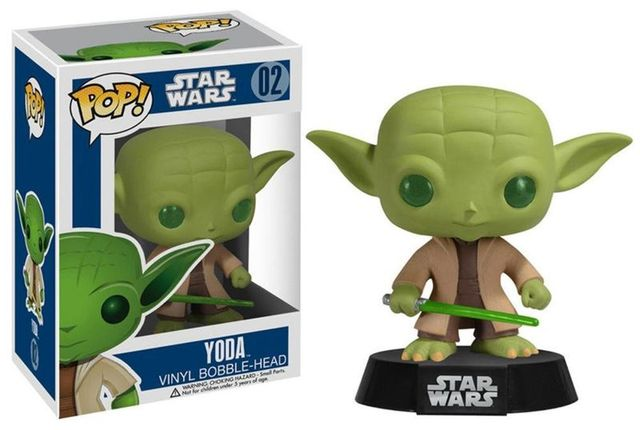 Funko Pop! Star Wars Action Figure – Yoda