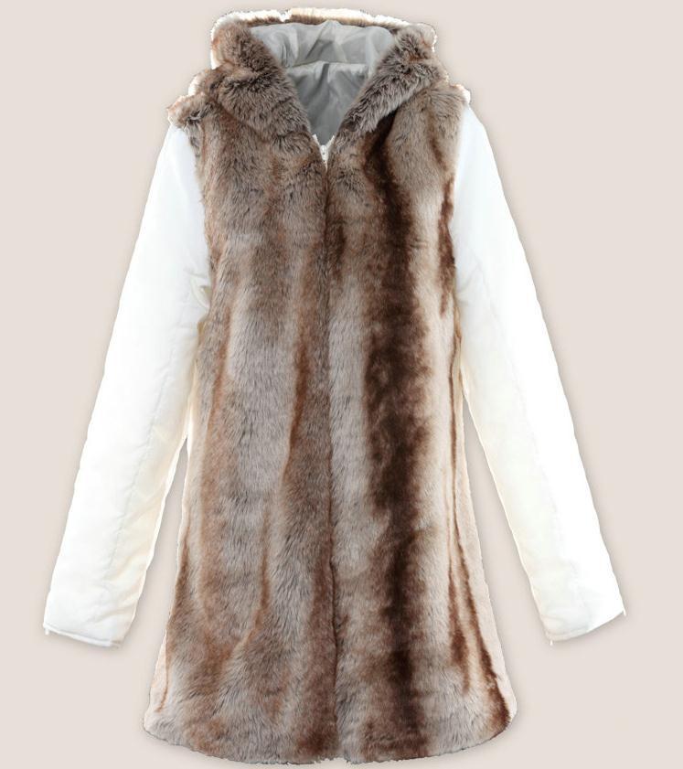 Пролет и зима разстроен дамски вълнен - Дамски дрехи - Снимка 4