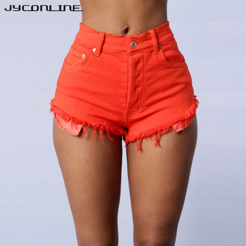 JYConline Denim Shorts Women 2017 Casual Short Jeans ...
