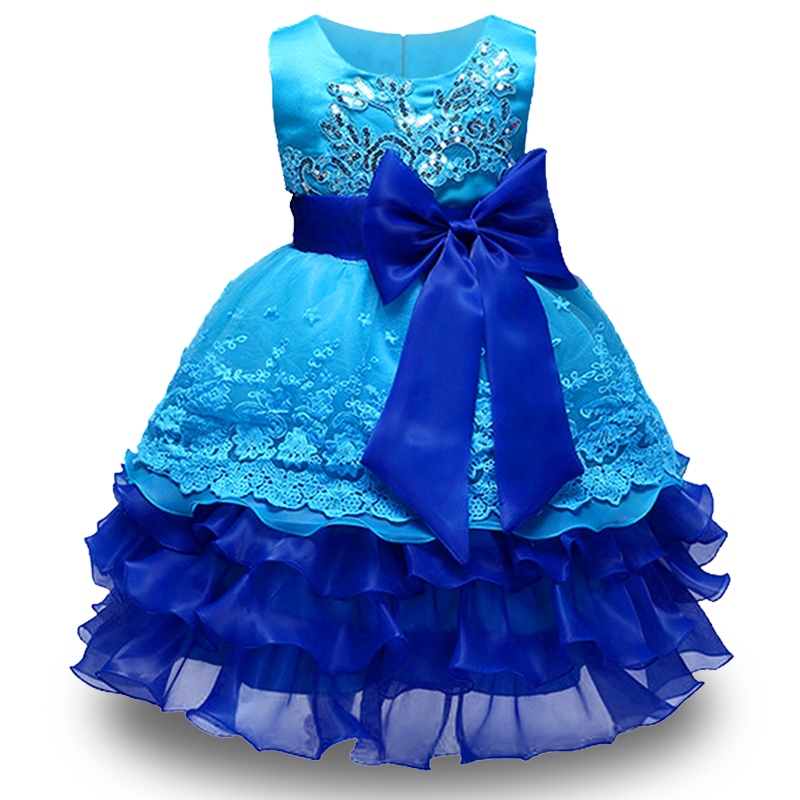 цены на 2018 High Quality Girls Embroidery Princess dress for girls Elegant birthday party dress Robe Fille Children Clothes Vestidos в интернет-магазинах