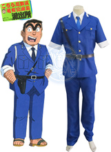 Kochikame Kankichi Ryotsu Police Uniform Anime Cosplay Costume
