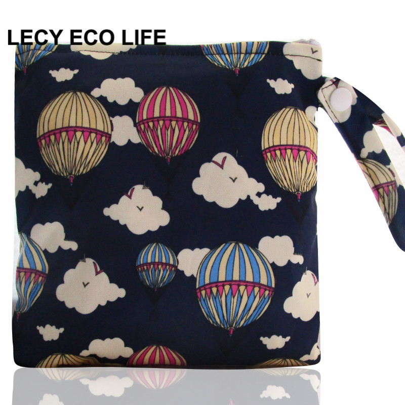 [LECY ECO LIFE] 1pc Multi-functional size 18*18 Wet Bag Reusable bag for Mama Cloth pads, Menstrual Pad, sanitary pads bags 20 pieces 2packs anion sanitary pads anion sanitary napkin eliminate bacteria menstrual pads panty liner health care