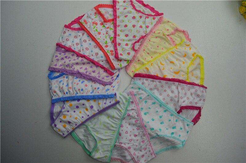 2016 Sale Real Kids Underwear 12pcs/lot Baby Girl Underwear Kids Panties Childs For Shorts Nurseries Childrens Briefs Agub001
