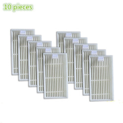 10 pieces/lot Robot Vacuum Cleaner HEPA Filter replacement for Chuwi ilife V1 Robotisc Vacuum Cleaner ilife v1 v55 v50