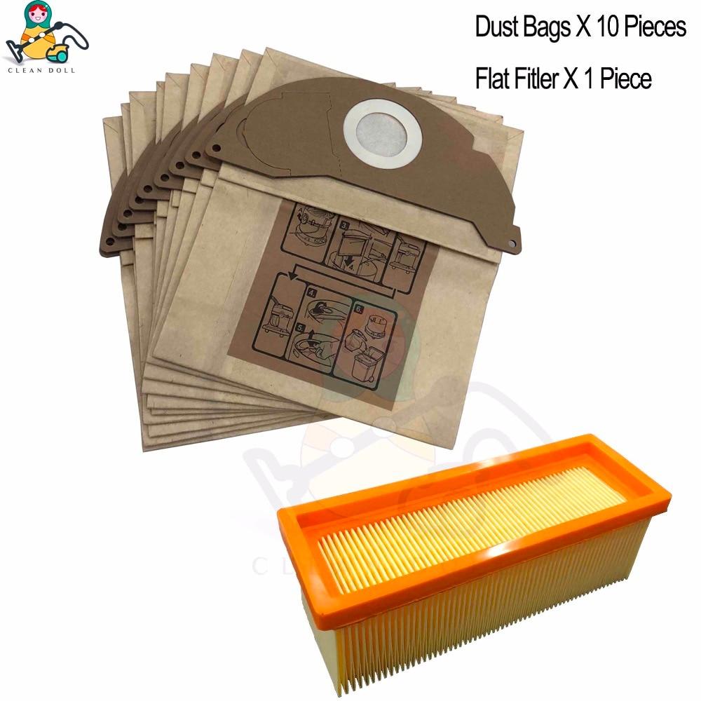 Dust Bags Filter Set For Karcher 2801plus A2801 SE 5.100 Vacuum Cleaner Supplies