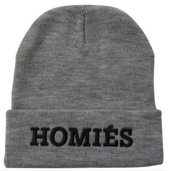 2017 Hot Sale Acrylic Adult Unisex Casual Letter Beanie Winter Hats for women and men Oatw Cdc Homies Hat bonnet femme rwby letter hot sale wool beanie female winter hat men